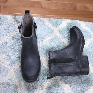 Luck Brand rain boots size 7 color gray